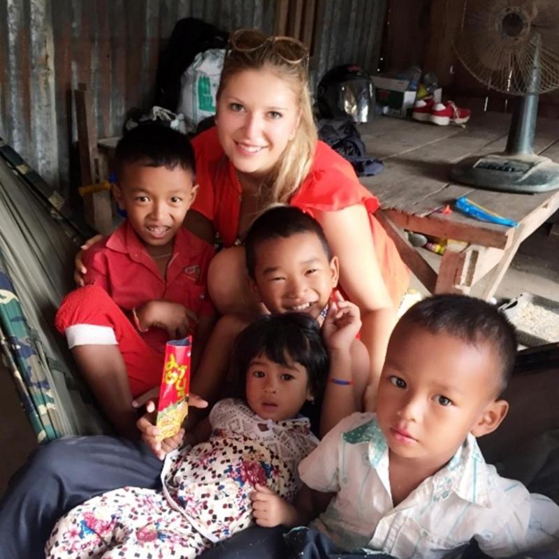 Katerina Z in Cambodia